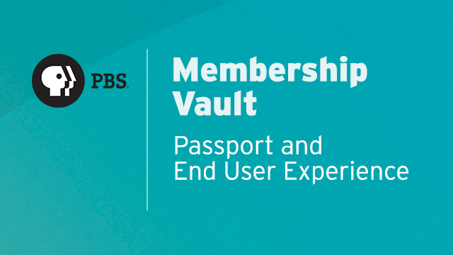 MV005 - Passport and End User Experience
