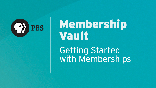 MV002 - Getting Started with Memberships