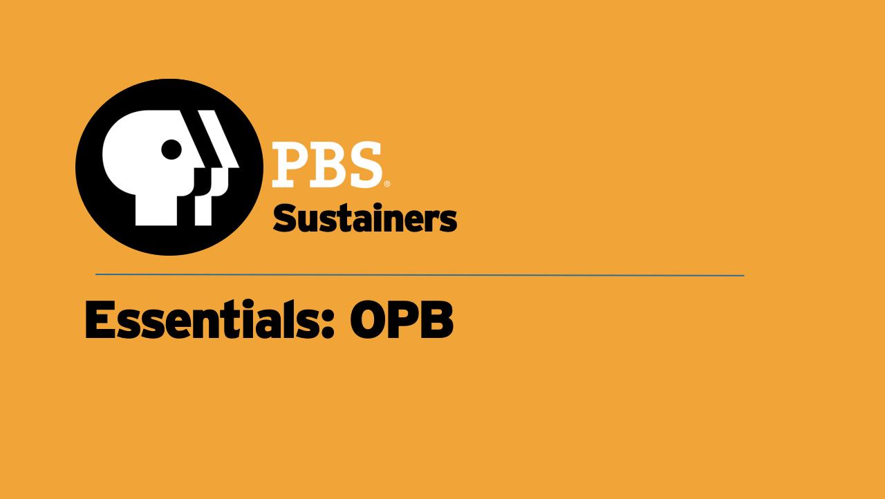 SUS06 - Essentials OPB