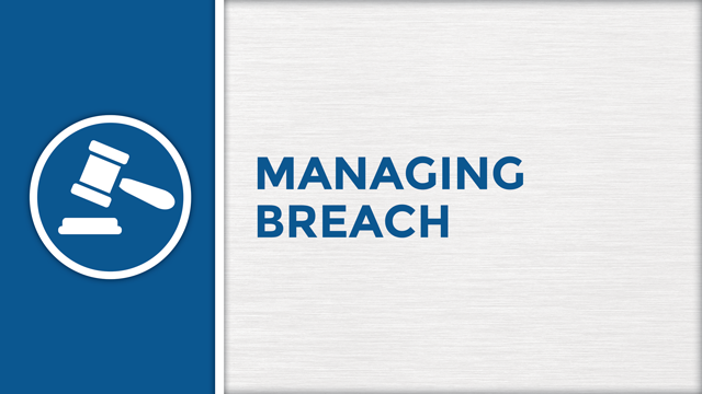 Managing Breach
