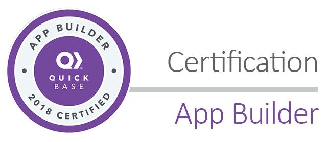 CB05: 2018 Certification - App Builder