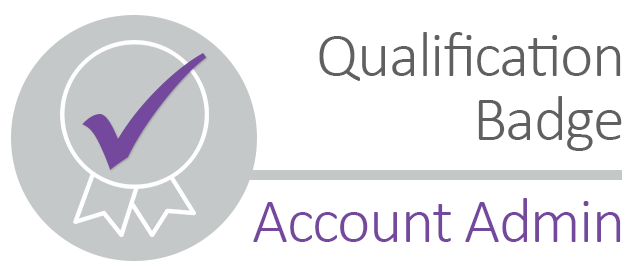 BG02: Qualification Badge - Account Admin