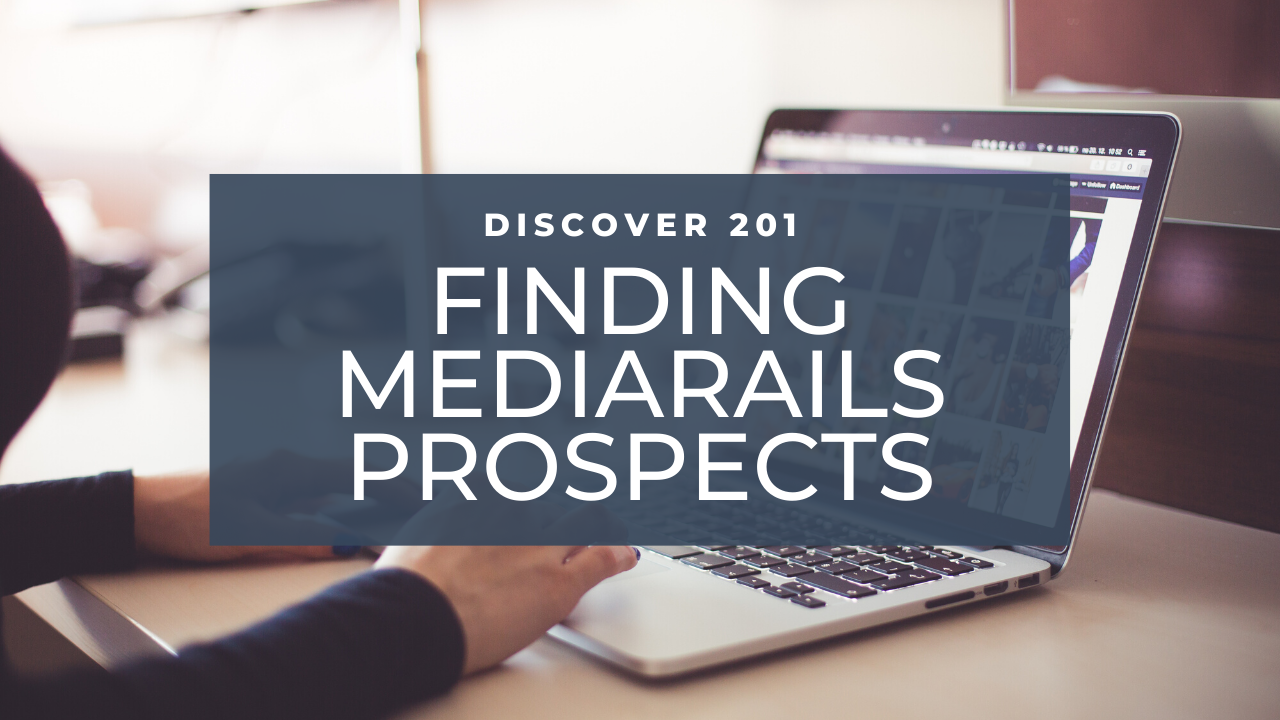 Mediarails: Discover 201