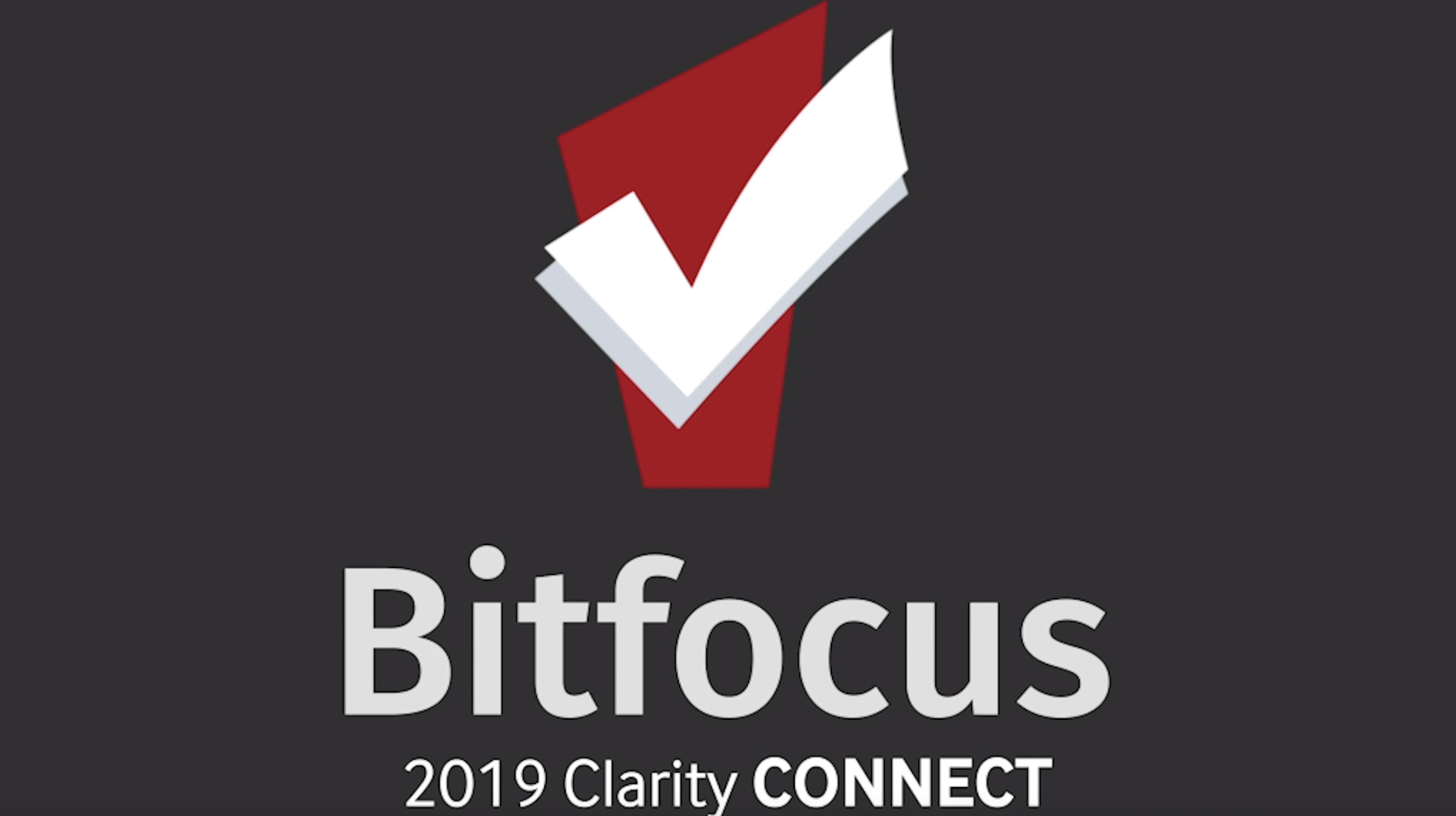 Clarity Connect 2019 Plenary Speaker Slides