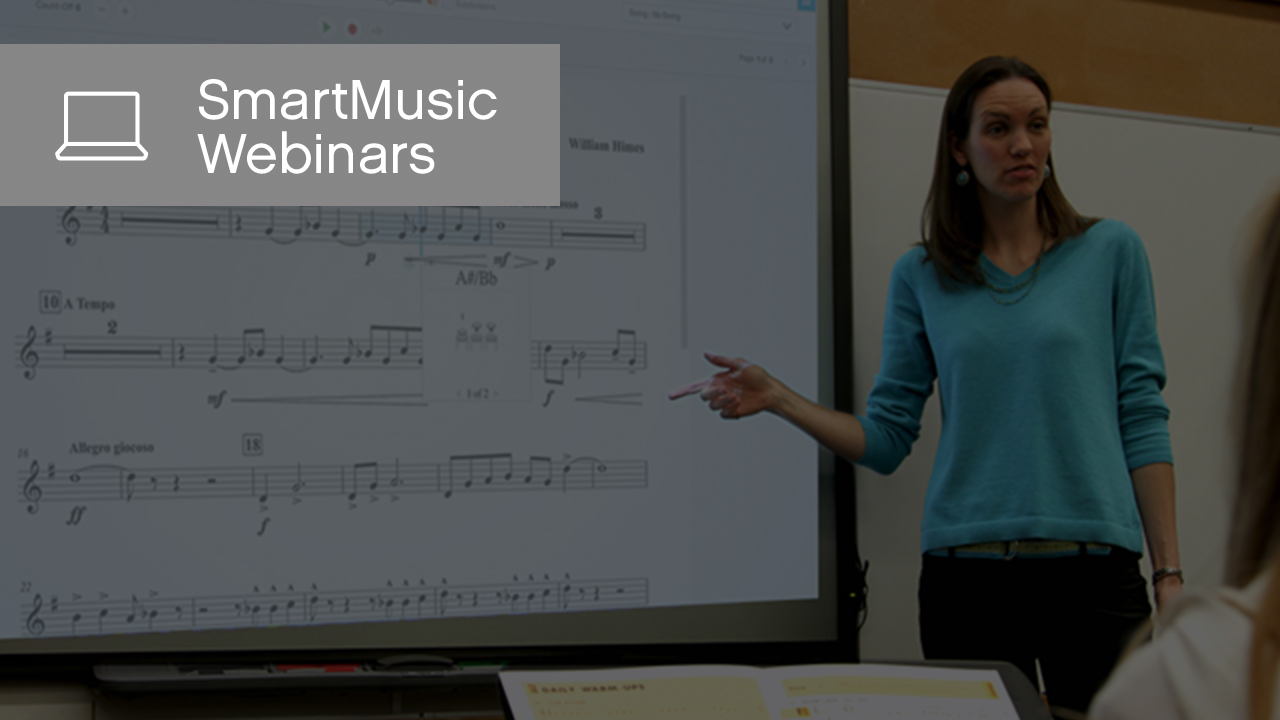 Plan Ahead with SmartMusic Units
