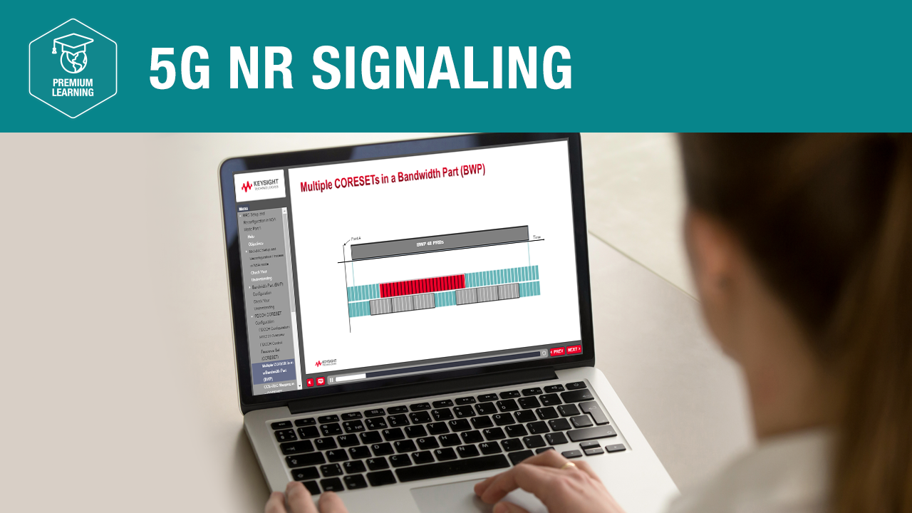 5G NR Signaling—Premium Learning