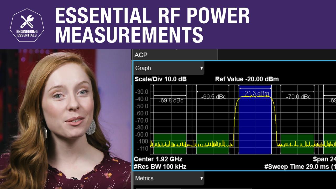 Essential RF Power Measurements