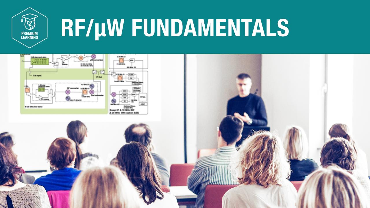 RF/µW Fundamentals—Premium Learning