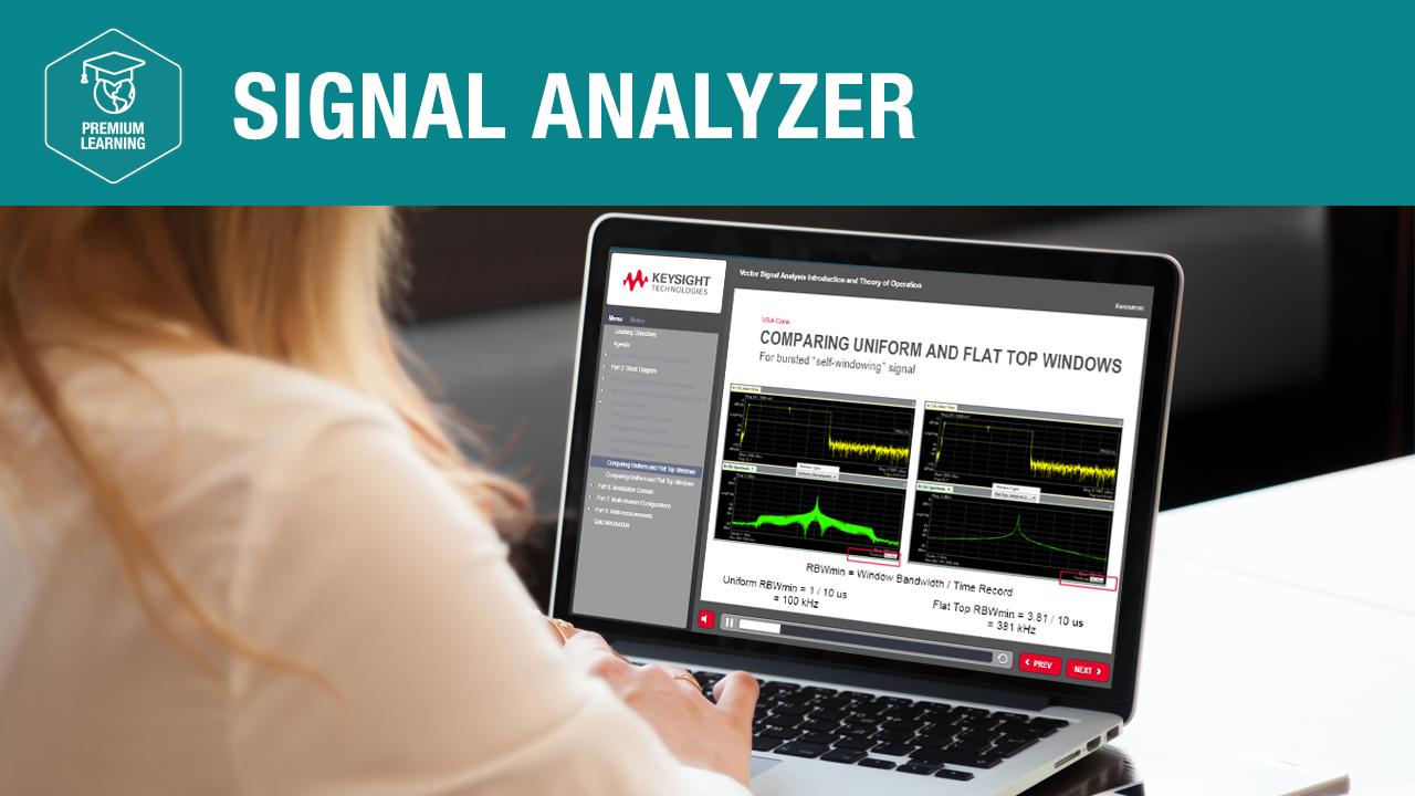 Signal Analyzer—Premium Learning