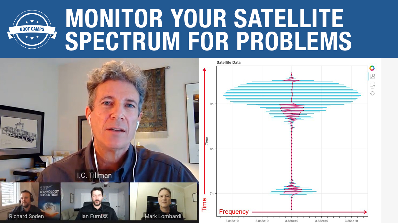 Monitor Your Satellite Spectrum for Problems