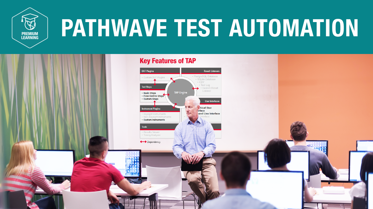 PathWave Test Automation—Premium Learning