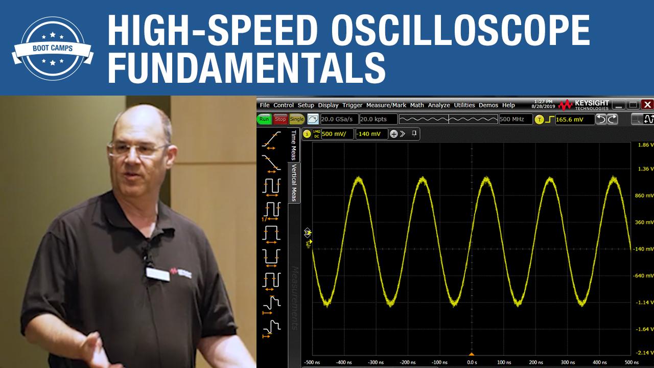 High-Speed Oscilloscope Fundamentals (EB)