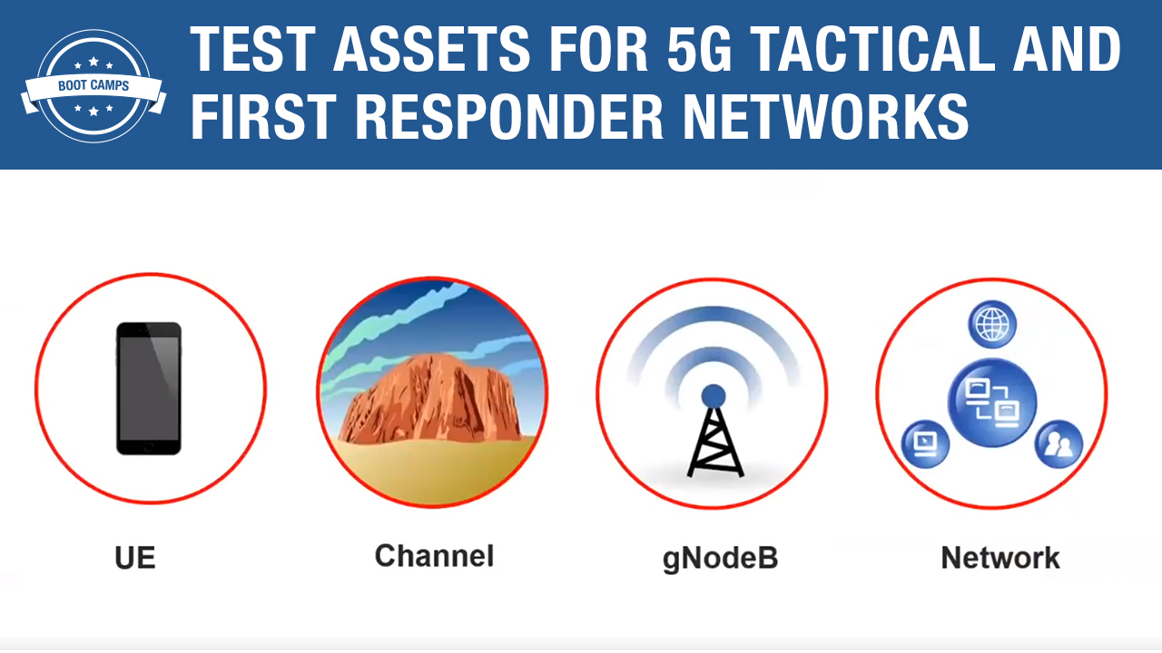 Test Assets for 5G Tactical and First Responder Networks