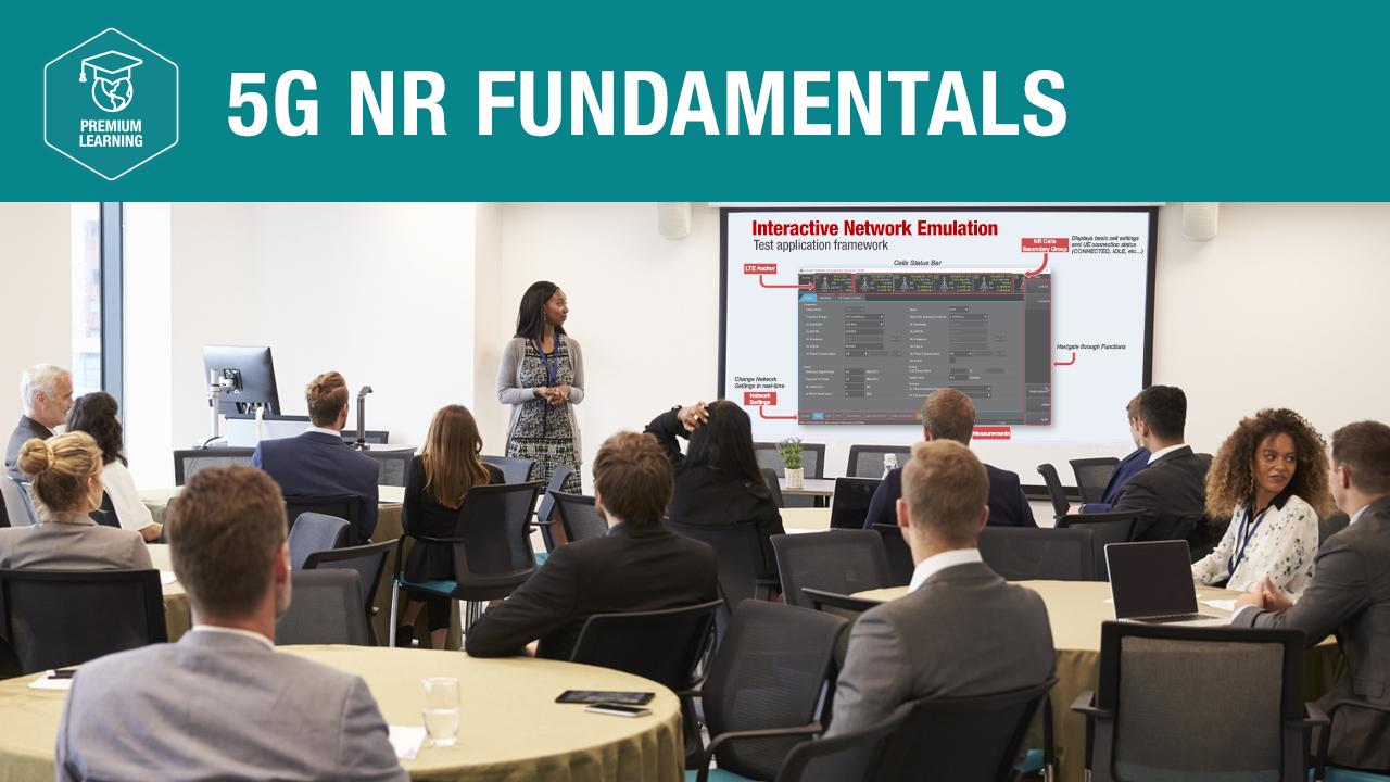 5G NR Fundamentals—Premium Learning