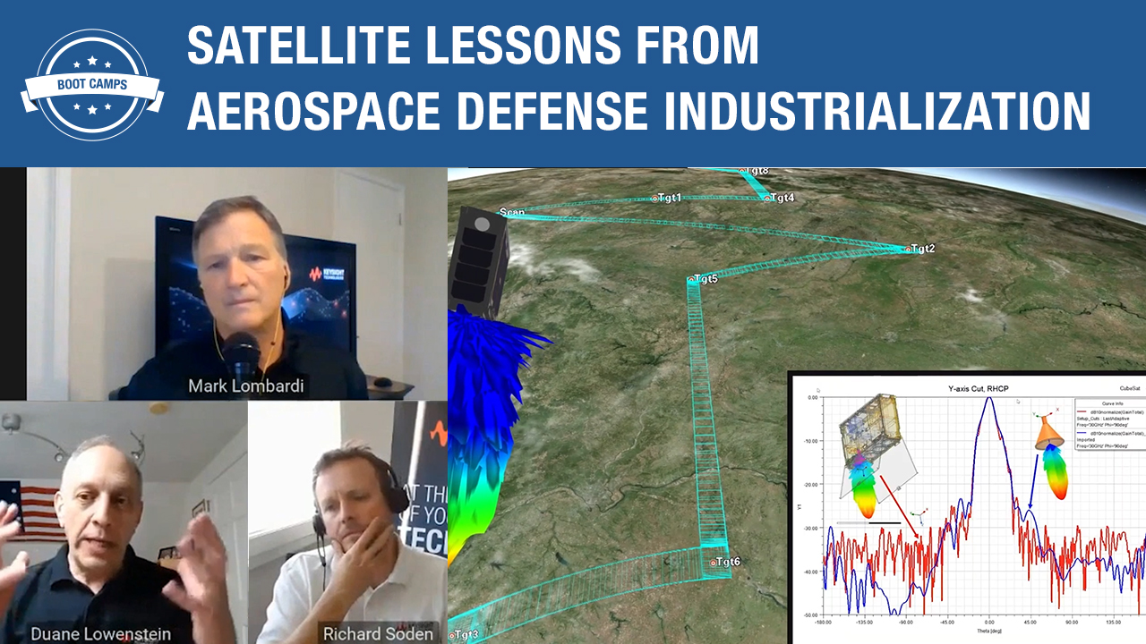 Satellite Lessons from Aerospace Defense Industrialization