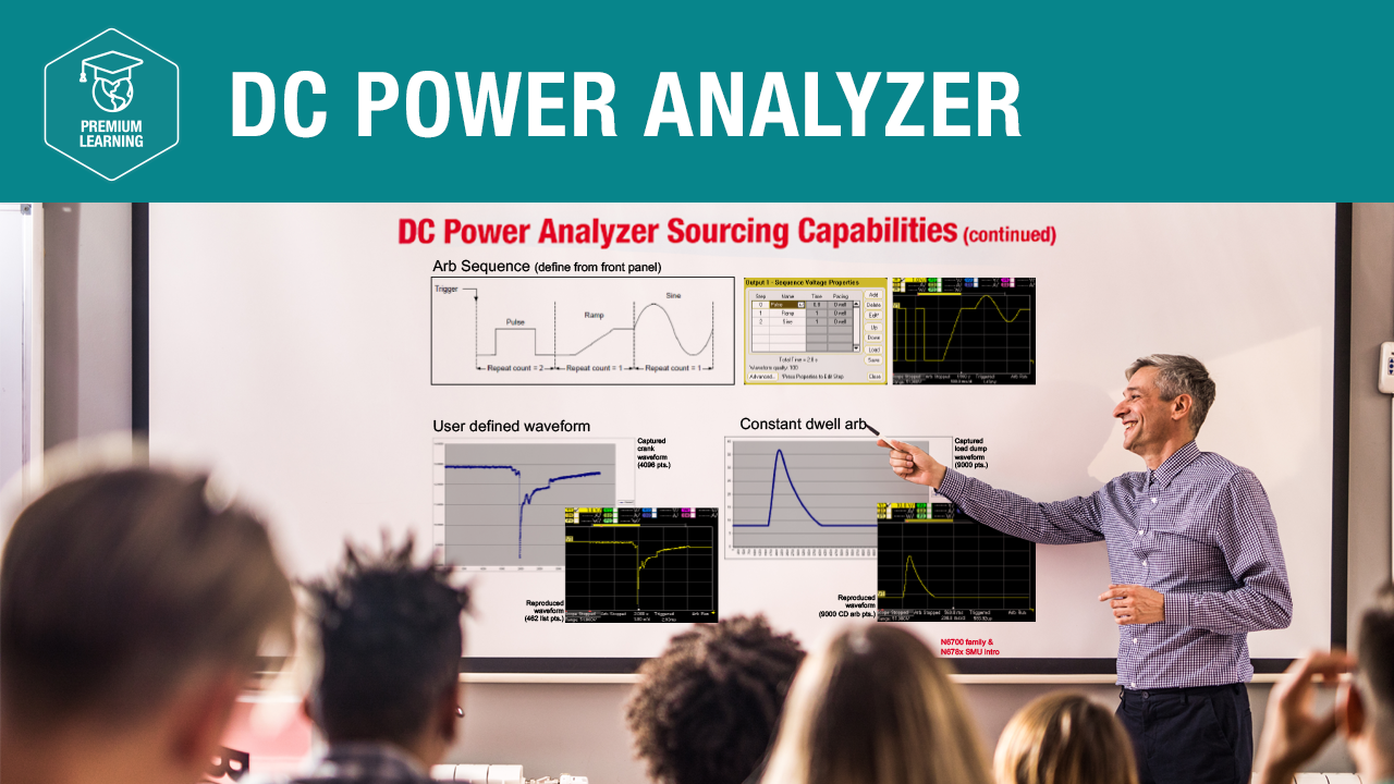 DC Power Analyzer—Premium Learning