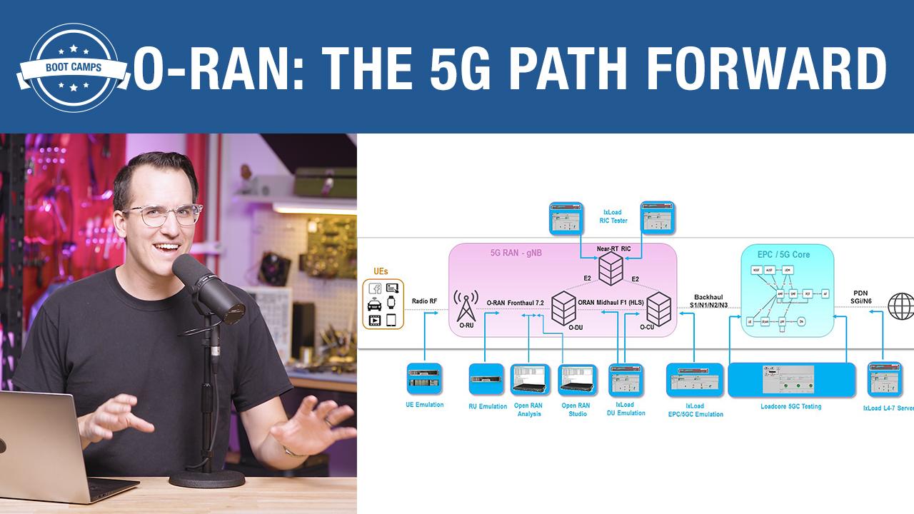 O-RAN: The 5G Path Forward