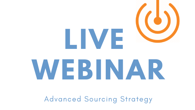 April 2nd | Advanced Sourcing Strategy