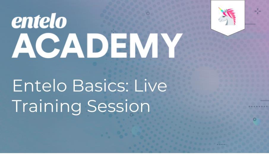 Entelo Basics: Live Training Session