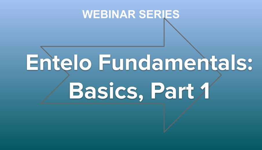 Entelo Fundamentals Part 1, Basics Overview