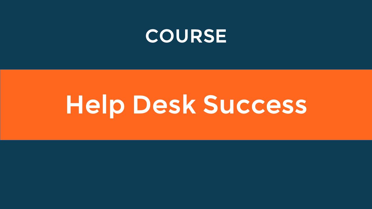 Help Desk Success