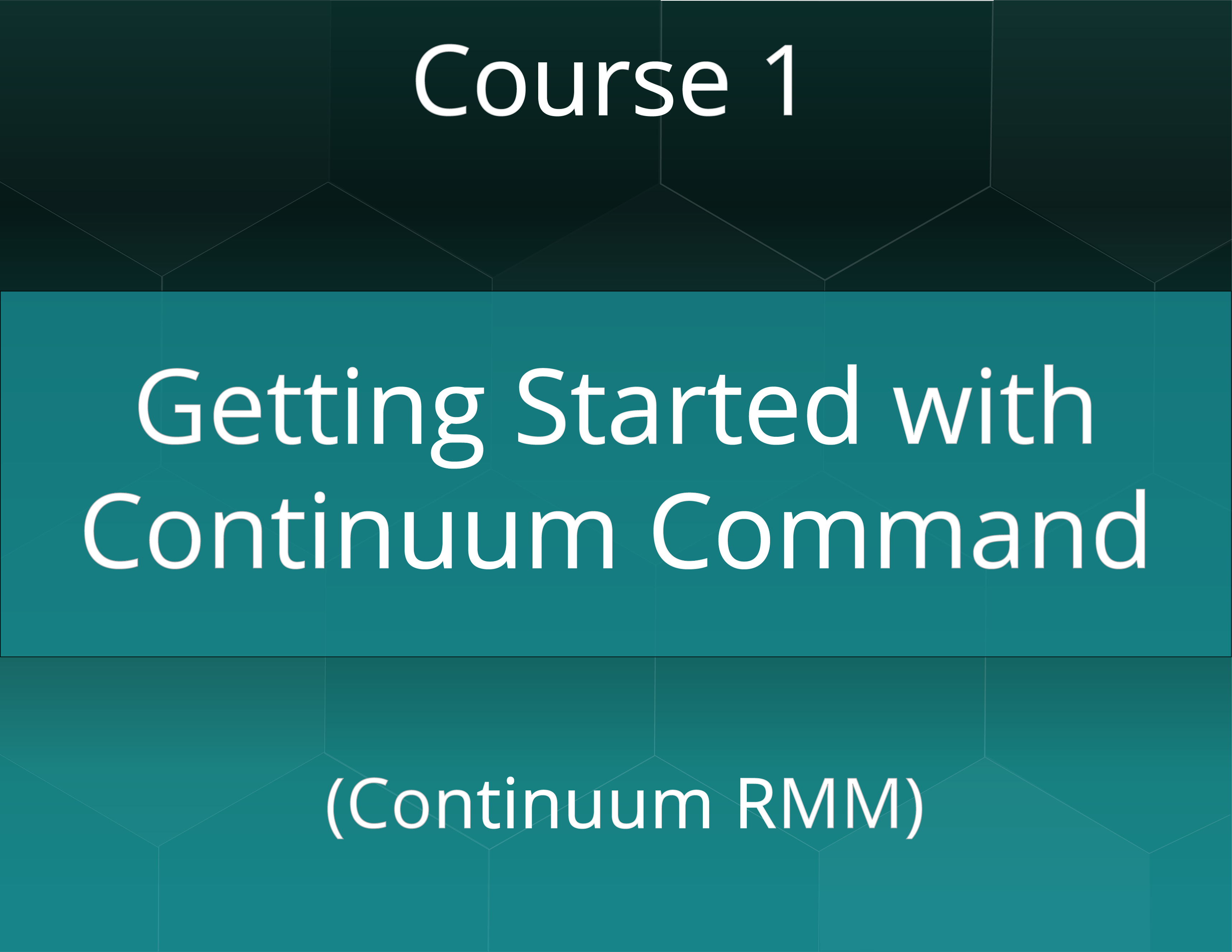 Getting Started with Continuum Command