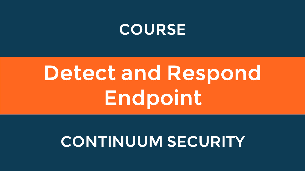 Detect and Respond Endpoint