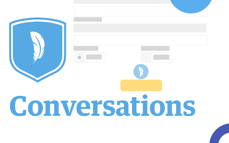 Learn to engage with your web audience like never before with Conversations.