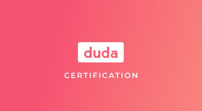 Duda Certified Platform Specialist