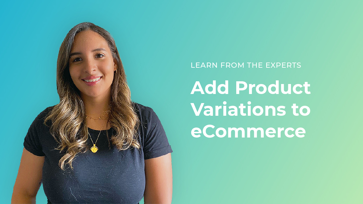 Add Product Variations to eCommerce