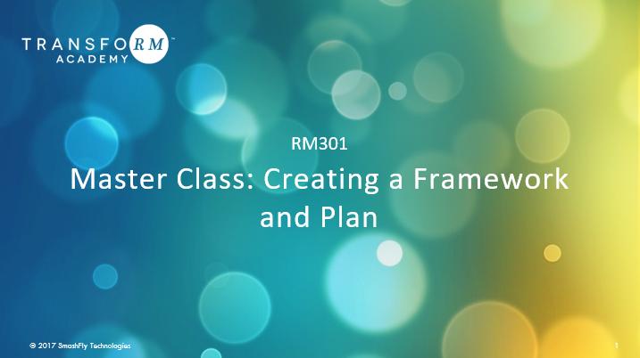RM 301: Master Class