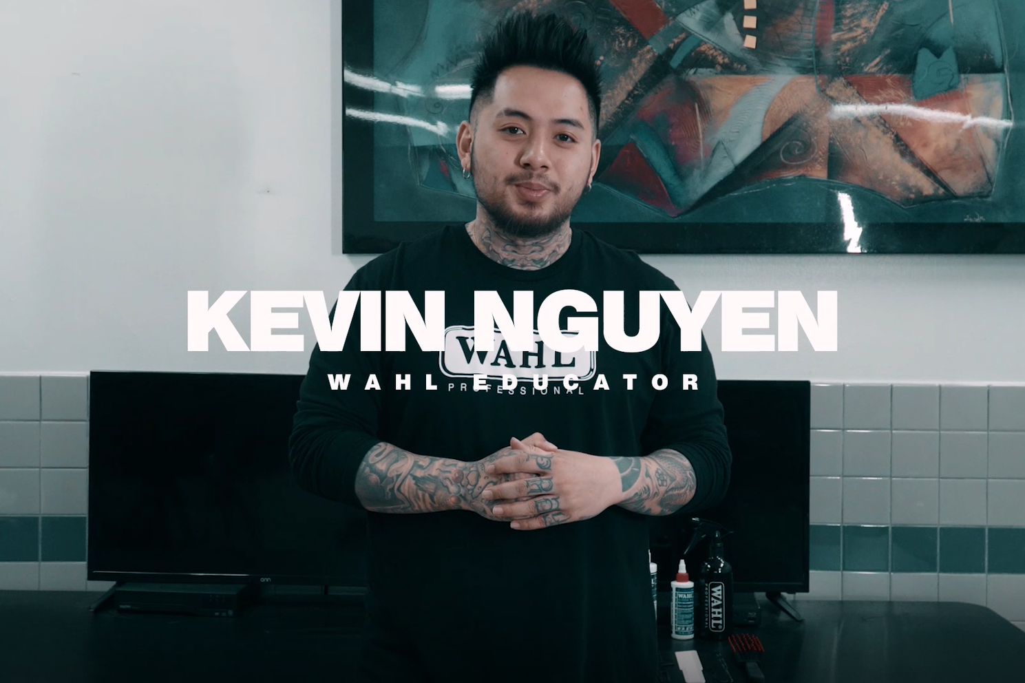 THE WAHL CROP - FEATURING KEVIN NGUYEN - WAHL ARTIST