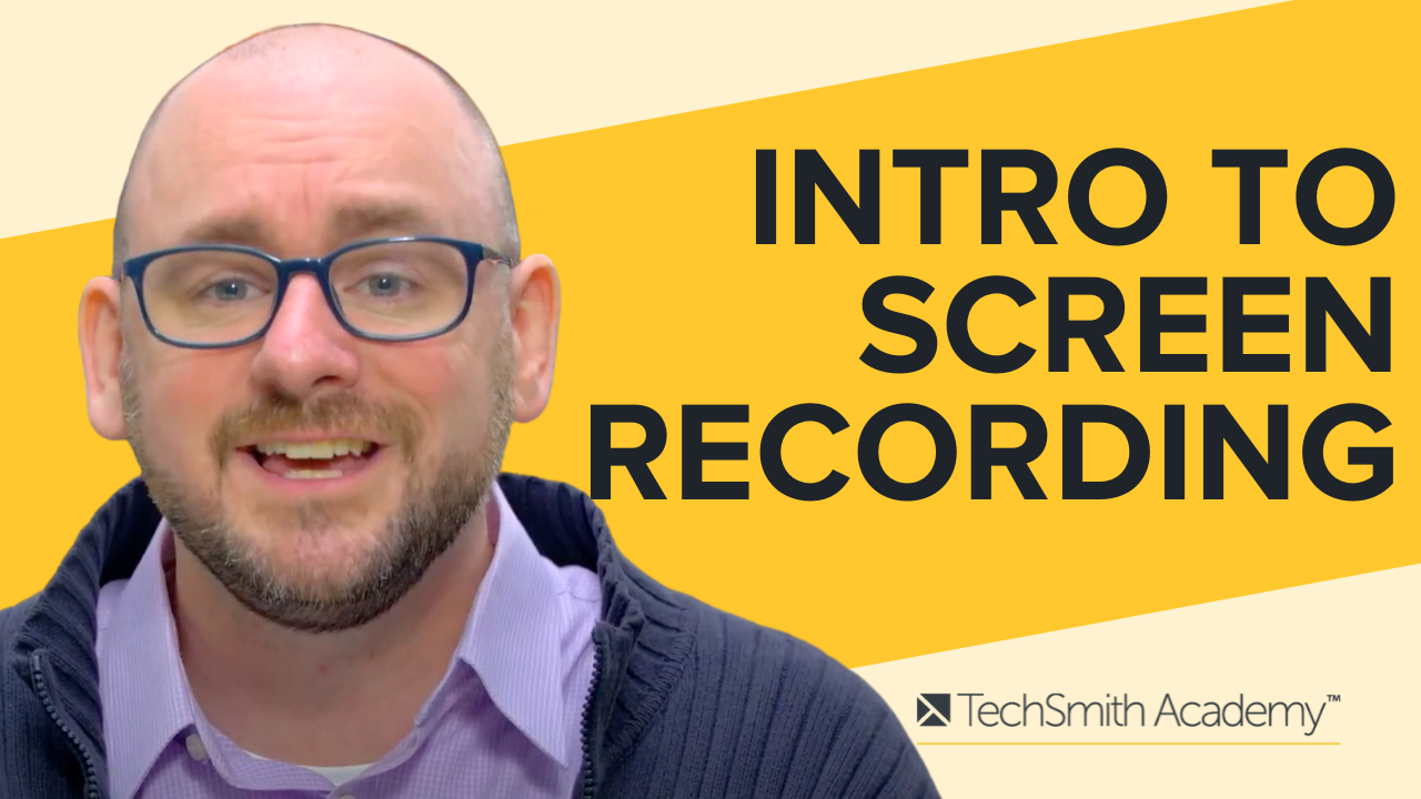 Screen Recording Basics Course: Introduction to Screencasting