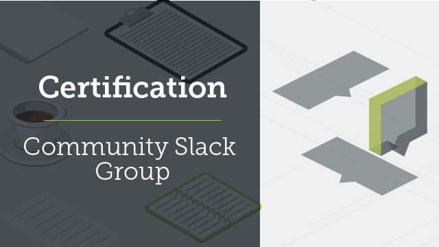 Certification Community