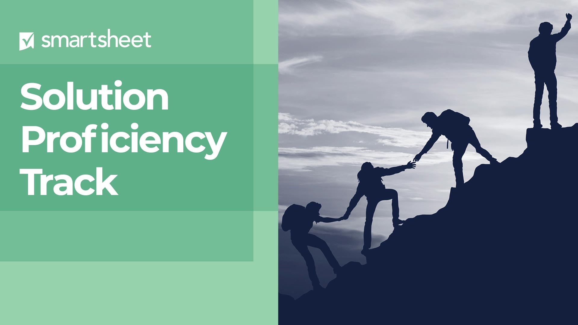 Instructions for Navigating the Solution Proficiency Track