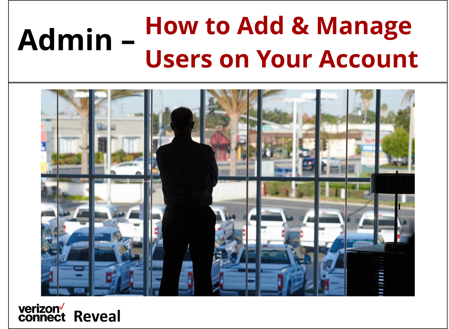 Reveal Admin- How to Add and Manage Users eTutorial