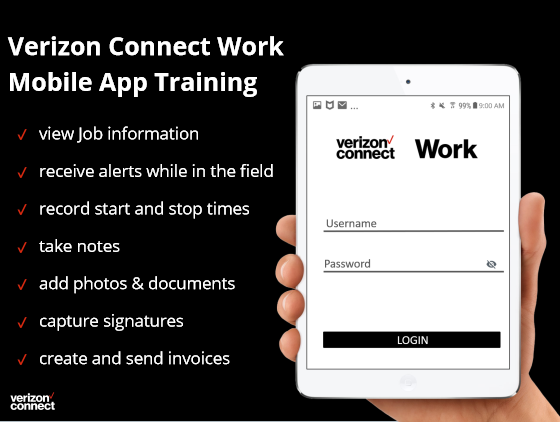 Work Mobile App