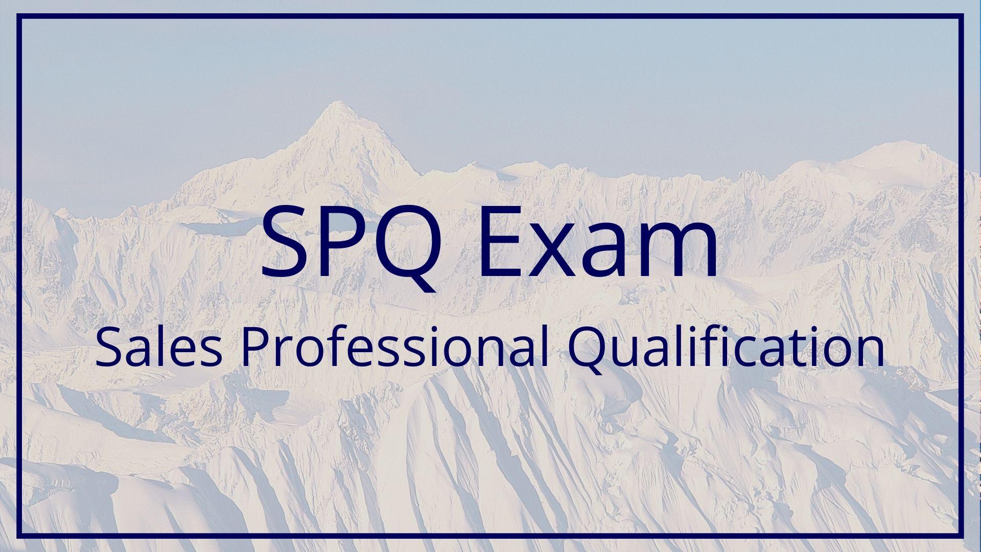 SPQ Data Quality