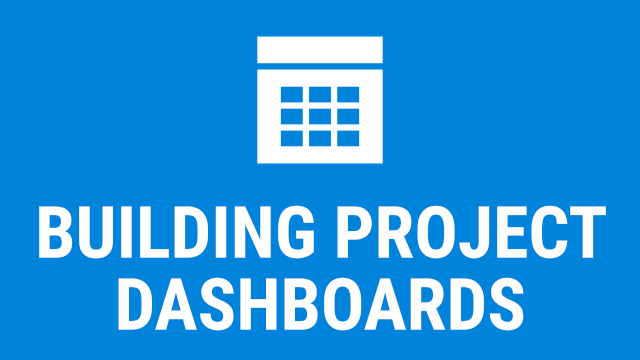 Building Project Dashboards in Revu - 2018/2019
