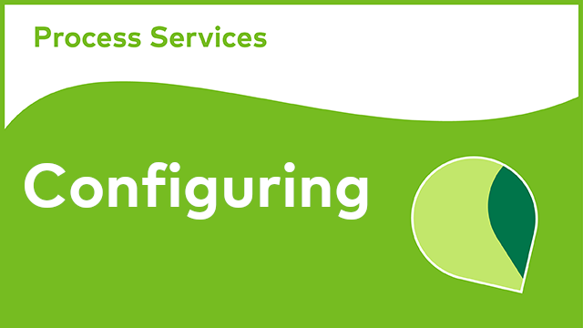 Alfresco Process Services - Configuring