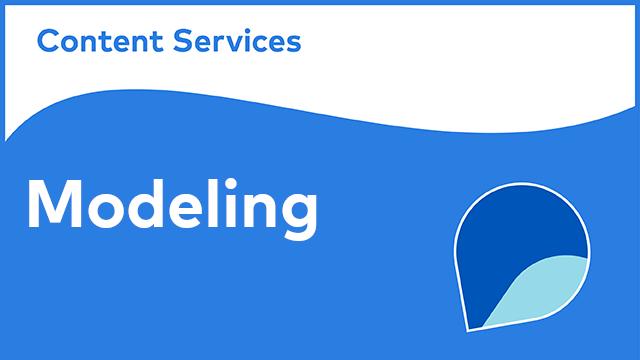Alfresco Content Services - Modeling