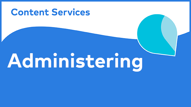 Alfresco Content Services - Administering