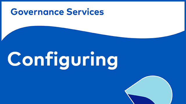 Alfresco Governance Services - Configuring