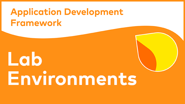 Alfresco Application Development Framework - Lab Environments