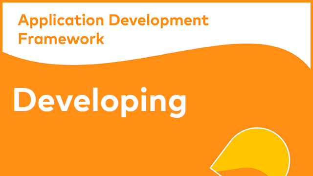 Alfresco Application Development Framework - Developing