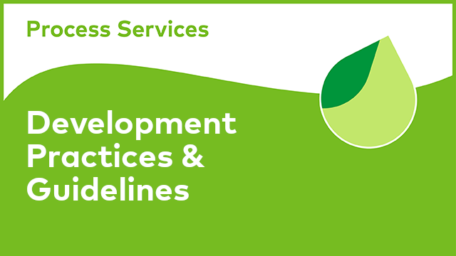 APS Development: Development Practices & Guidelines