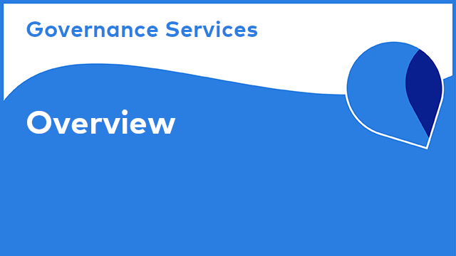 Governance Services: Overview
