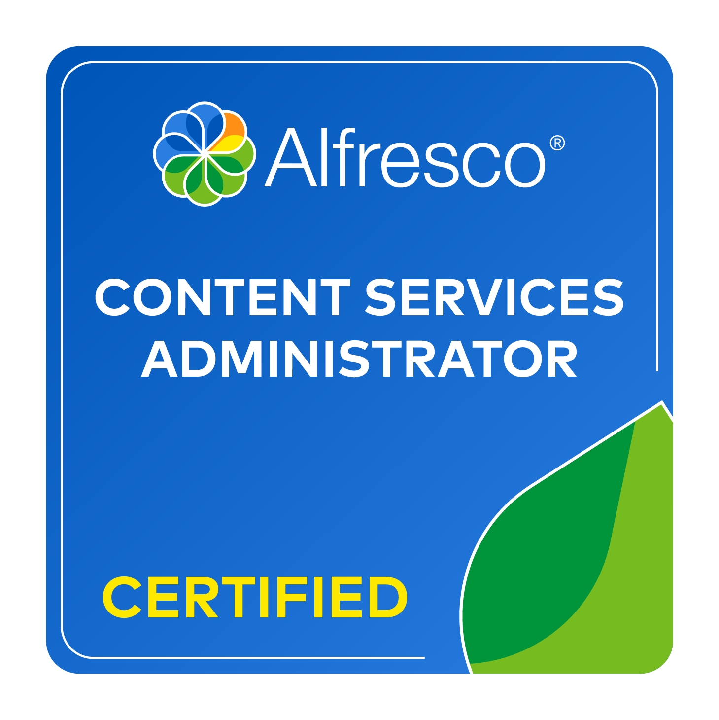 Alfresco Content Services Certified Administrator (ACSCA)