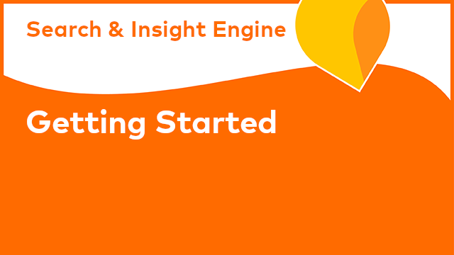 Alfresco Search and Insight Engine: Getting Started