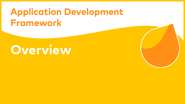 Alfresco Application Development Framework Overview